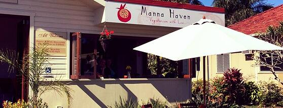 Byron Palms Guest House Top Health Food Cafes Manna Haven