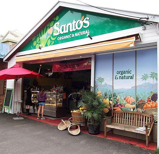 Byron Palms Guest House Top Health Food Cafes Santos