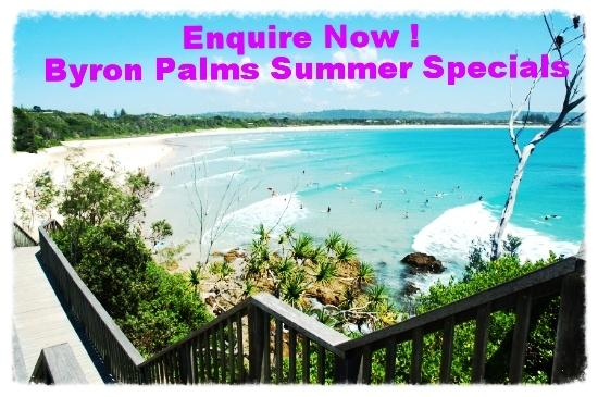 Byron Bay Accommodation Summer Special Byron Palms Guest House